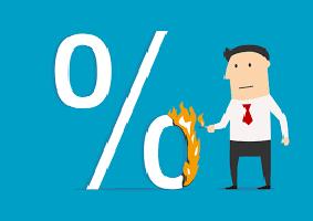 نرخ سود بیشتر از نرخ بانک مرکزی
